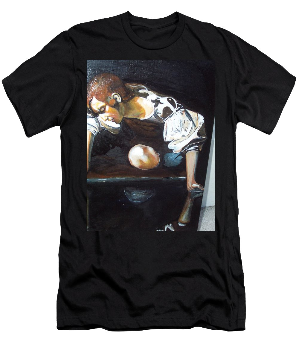 Men's T-Shirt (Athletic Fit) featuring the painting Detail by Jude Darrien