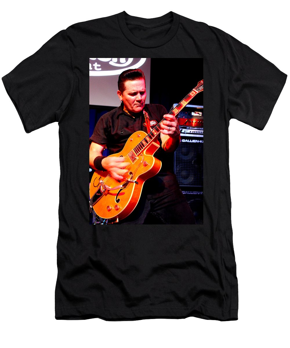 The Reverend Horton Heat Men's T-Shirt (Athletic Fit) featuring the photograph Untitled by Chiara Corsaro