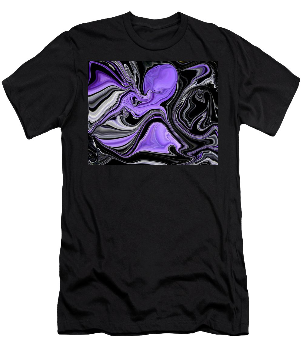 Abstract Men's T-Shirt (Athletic Fit) featuring the digital art Abstract 57 by J D Owen