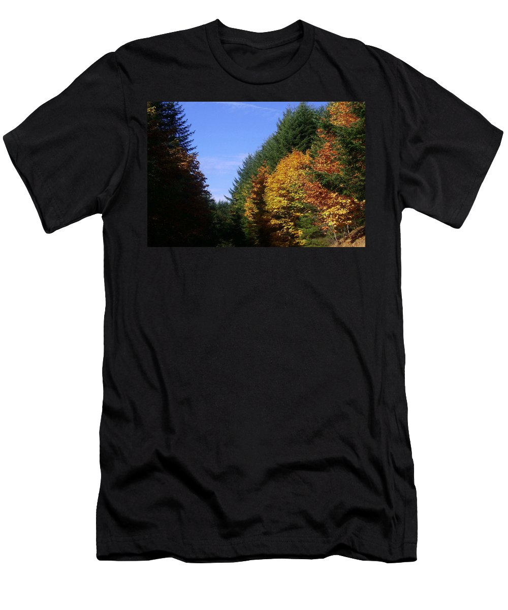 Bloom Men's T-Shirt (Athletic Fit) featuring the photograph Autumn 9 by J D Owen