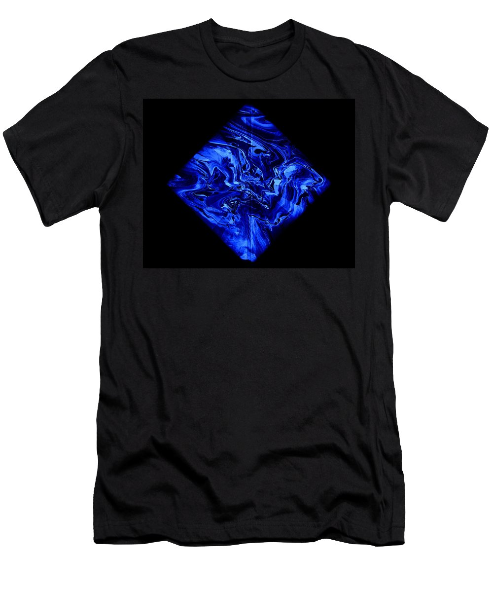 Diamond Men's T-Shirt (Athletic Fit) featuring the painting Diamond 209 by J D Owen