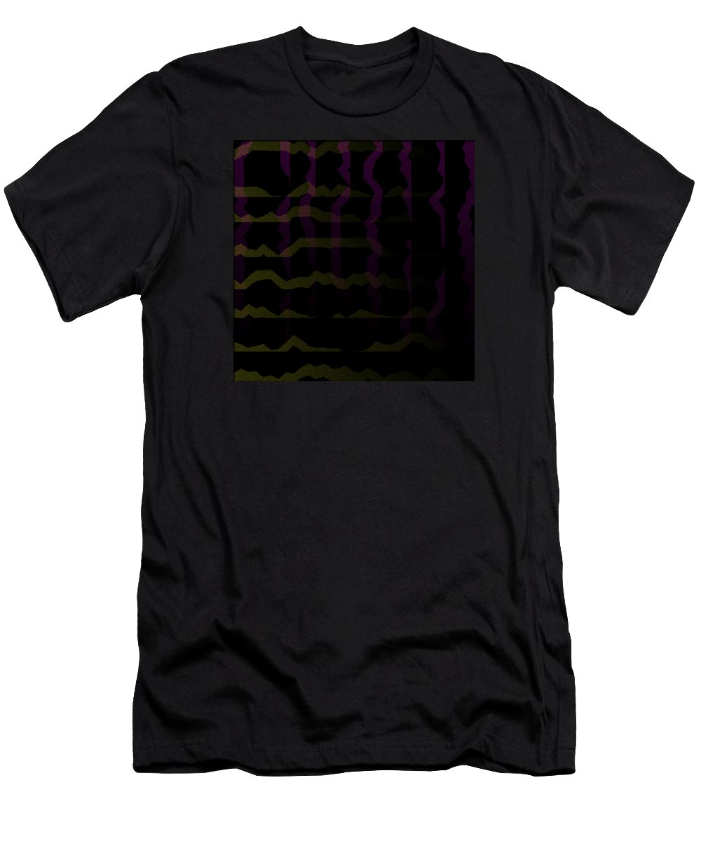 Abstract Men's T-Shirt (Athletic Fit) featuring the digital art 5040.24.17 by Gareth Lewis