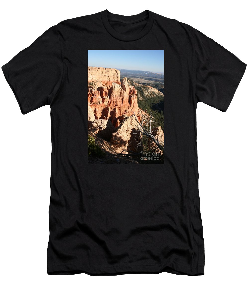 Canyon Men's T-Shirt (Athletic Fit) featuring the photograph Bryce Canyon by Christiane Schulze Art And Photography