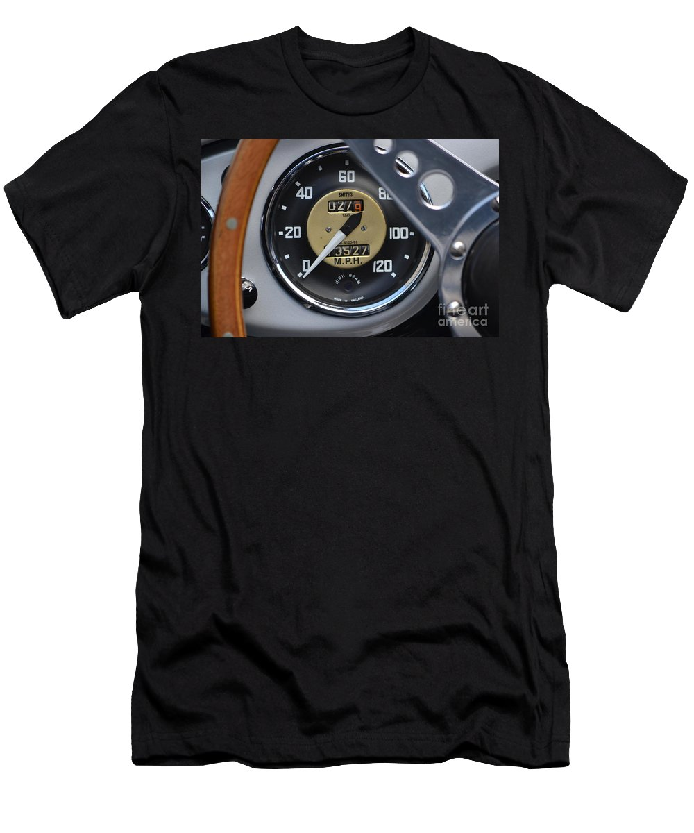 Sports Car Men's T-Shirt (Athletic Fit) featuring the photograph California Mille by Dean Ferreira