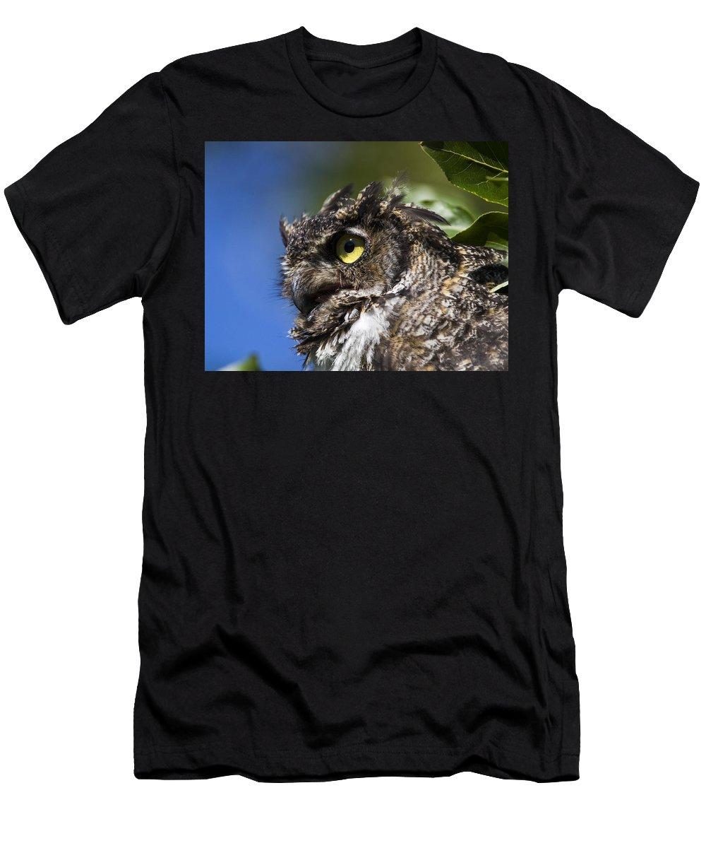 Doug Lloyd Men's T-Shirt (Athletic Fit) featuring the photograph Profile by Doug Lloyd