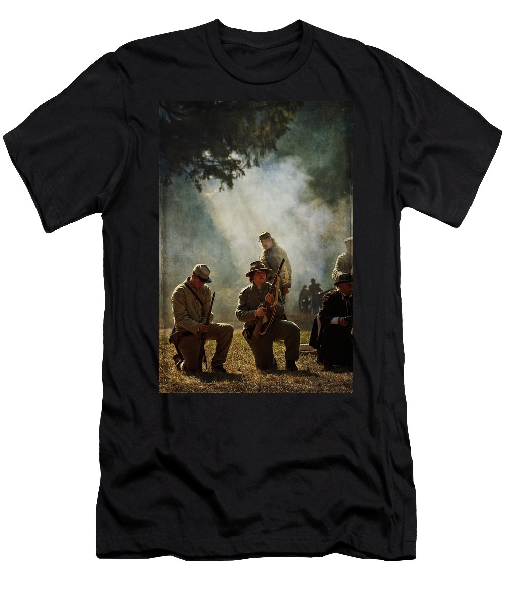 A Doorway To Heaven Men's T-Shirt (Athletic Fit) featuring the photograph A Doorway To Heaven by Wes and Dotty Weber