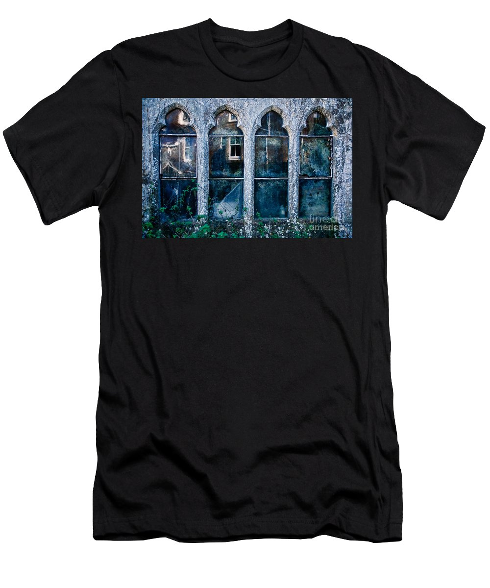 Powerstock Men's T-Shirt (Athletic Fit) featuring the photograph A Face At The Window by Susie Peek