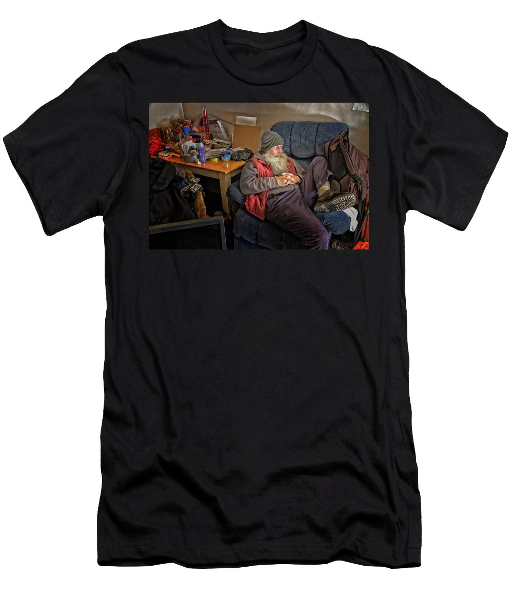 Men Men's T-Shirt (Athletic Fit) featuring the photograph A Nooner by John Herzog