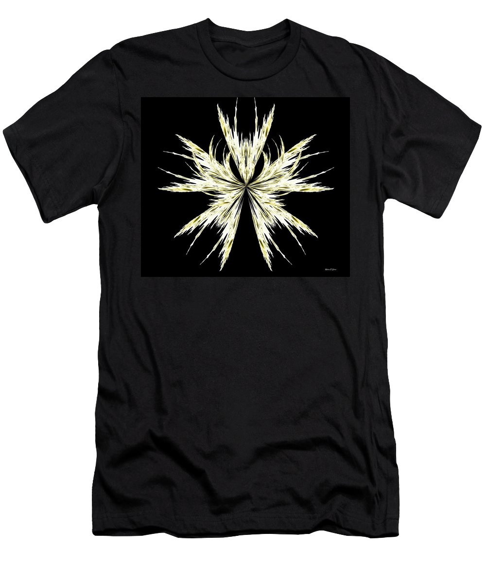 Abstract 127 Men's T-Shirt (Athletic Fit) featuring the digital art Abstract 127 by Maria Urso