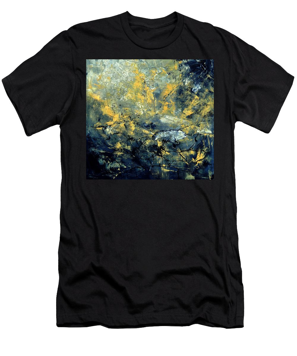 Abstract T-Shirt featuring the painting Abstract 8313061 by Pol Ledent