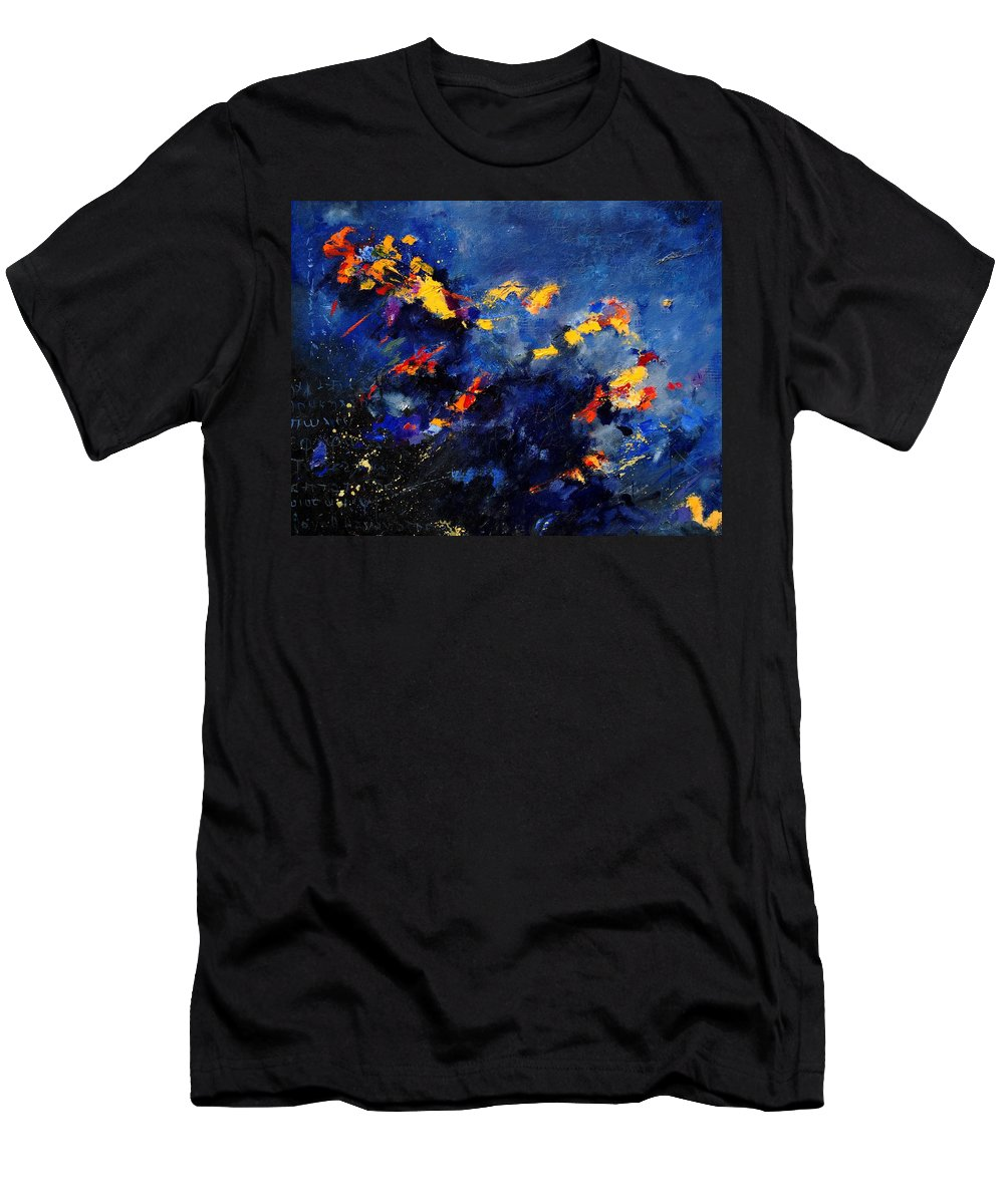 Abstract T-Shirt featuring the painting Abstract 971207 by Pol Ledent