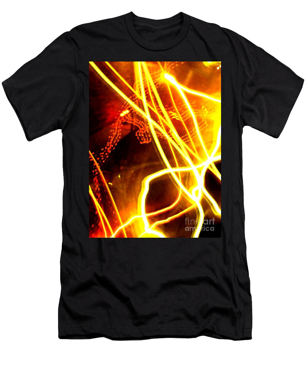 Abstract Men's T-Shirt (Athletic Fit) featuring the photograph Abstract by Amanda Barcon
