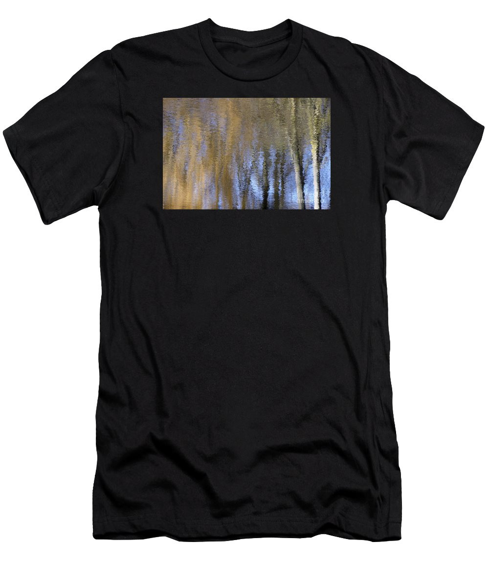 Wendy Men's T-Shirt (Athletic Fit) featuring the photograph Abstract Trees 2 by Wendy Wilton