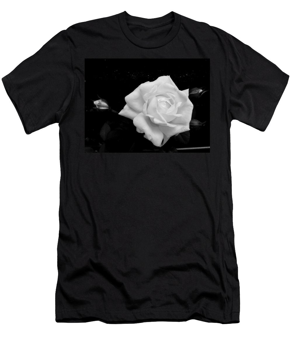 White Men's T-Shirt (Athletic Fit) featuring the photograph Adornment by Erin Rednour