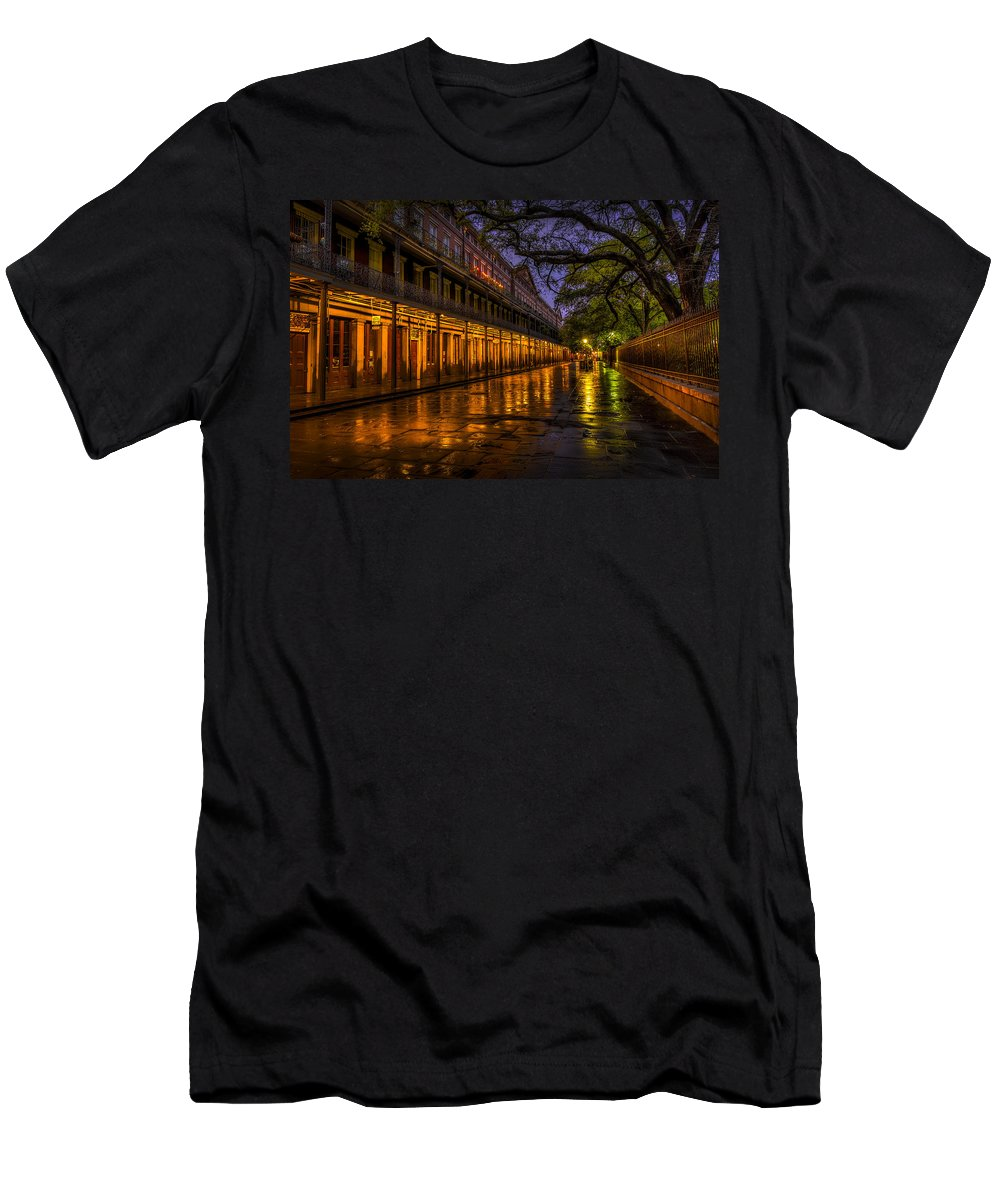 David Morefield Men's T-Shirt (Athletic Fit) featuring the photograph After The Rain by David Morefield