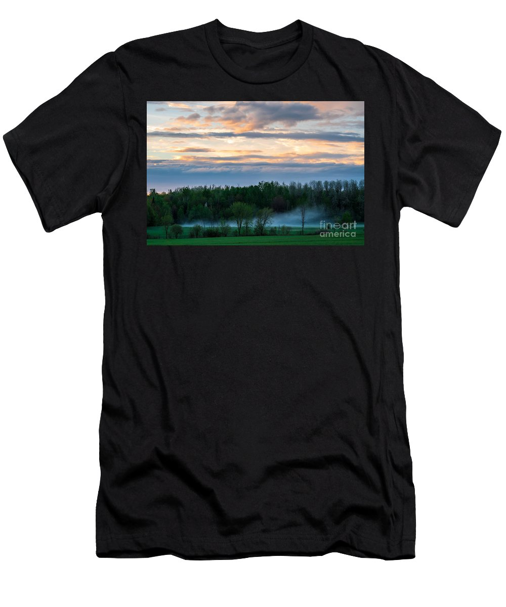 Storm Men's T-Shirt (Athletic Fit) featuring the photograph After The Storm by Bianca Nadeau