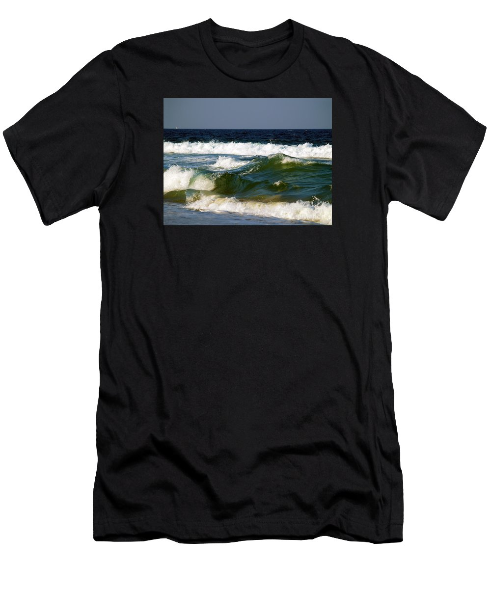 Fine Art Print Men's T-Shirt (Athletic Fit) featuring the photograph Aftermath Of A Storm II by Patricia Griffin Brett