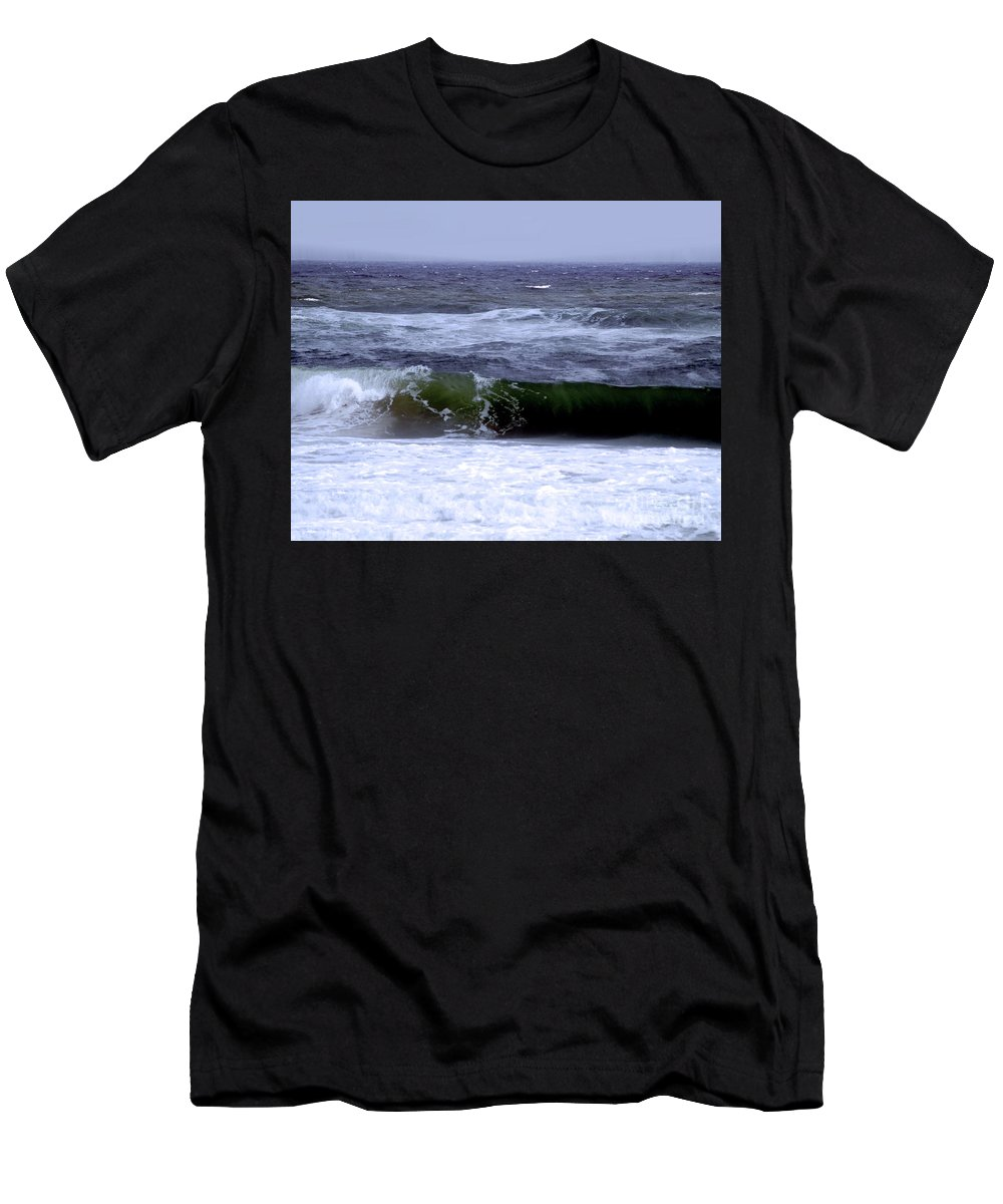 Fine Art Print Men's T-Shirt (Athletic Fit) featuring the photograph Aftermath Of A Storm Vi by Patricia Griffin Brett
