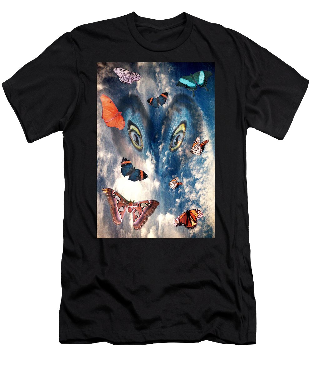 Air T-Shirt featuring the digital art Air by Lisa Yount