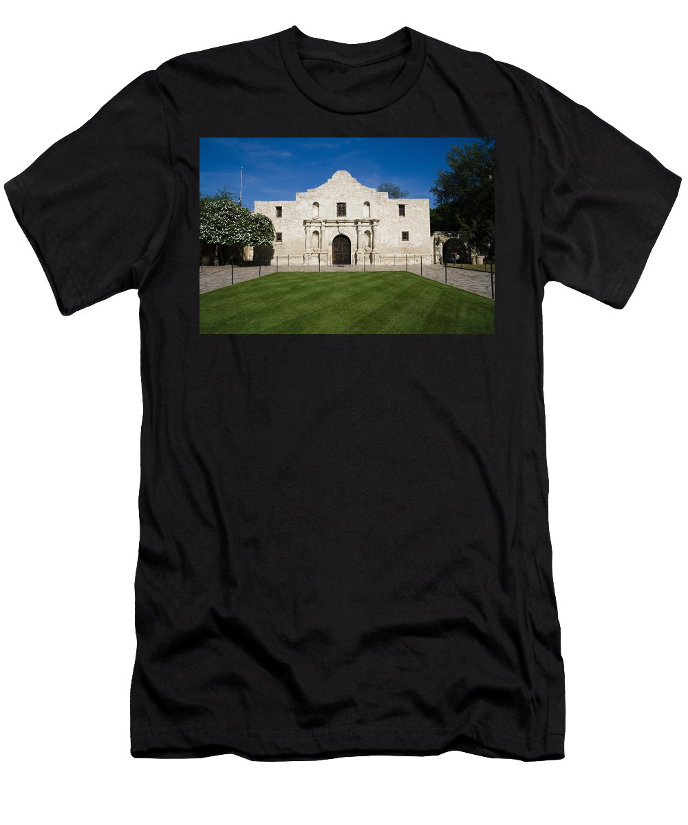 Alamo Men's T-Shirt (Athletic Fit) featuring the photograph Alamo by Alexey Stiop
