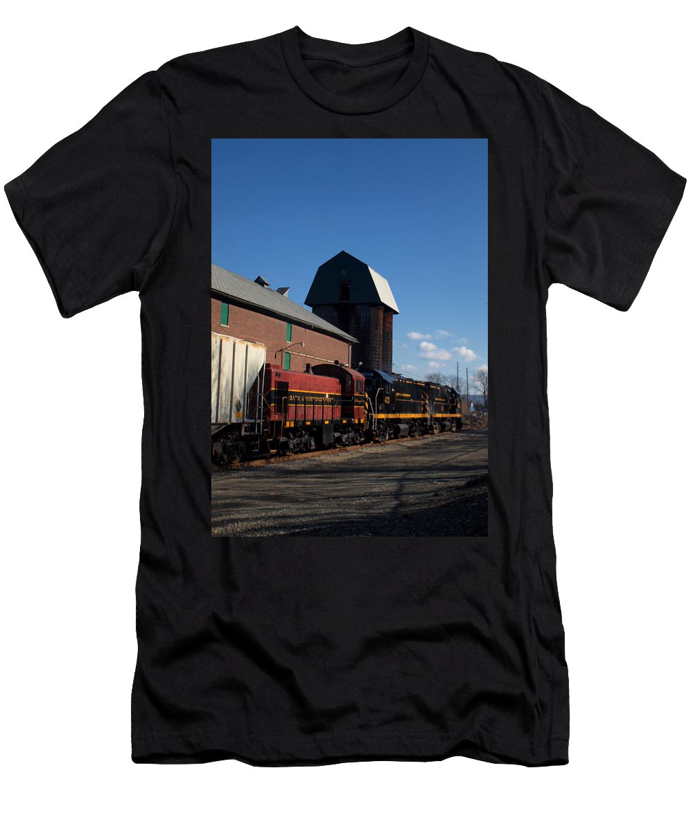Joshua House Photography Men's T-Shirt (Athletic Fit) featuring the photograph Alco Holic by Joshua House