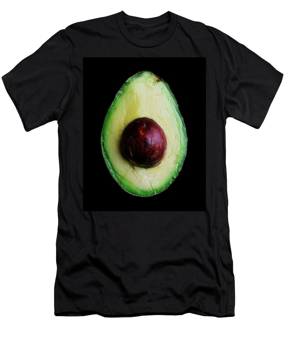 Fruits T-Shirt featuring the photograph An Avocado by Romulo Yanes
