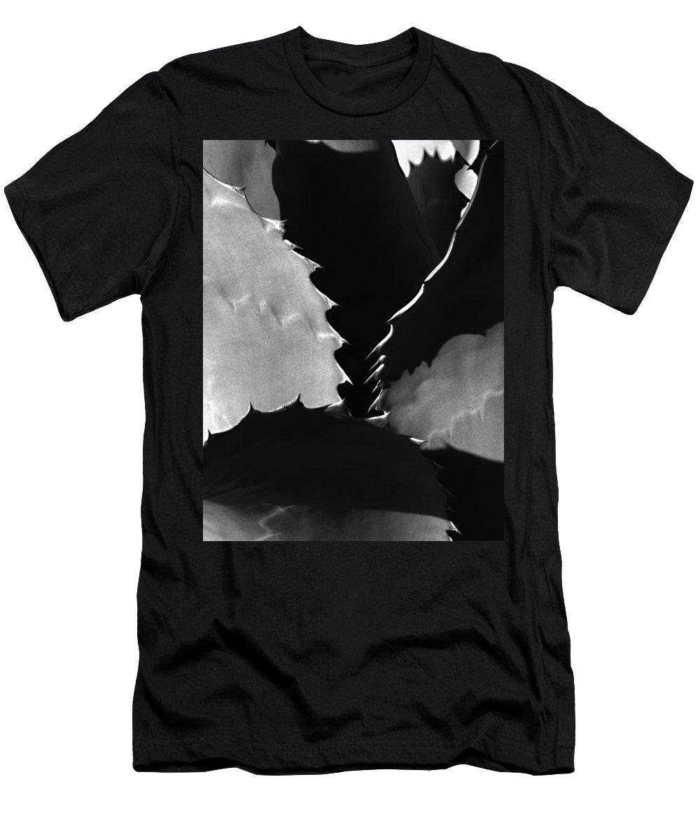 Agave Men's T-Shirt (Athletic Fit) featuring the photograph And Your Point Is by Joe Schofield