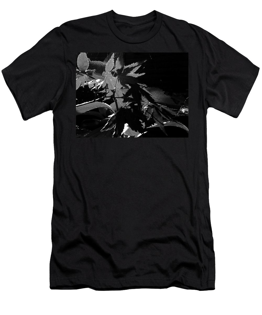 Japanese Men's T-Shirt (Athletic Fit) featuring the photograph Angels Or Dragons B/w by Martin Howard