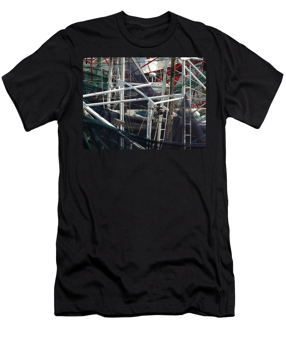 Men's T-Shirt (Athletic Fit) featuring the photograph Angles And Iron by Marilyn Holkham