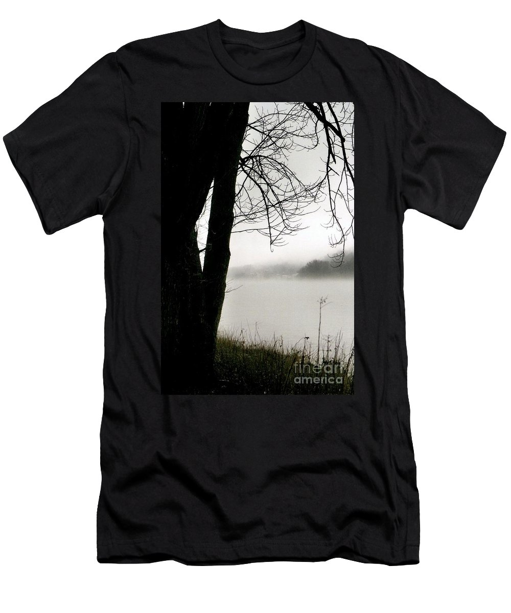 New Hope Men's T-Shirt (Athletic Fit) featuring the photograph Angular Fog by Michael Hoard