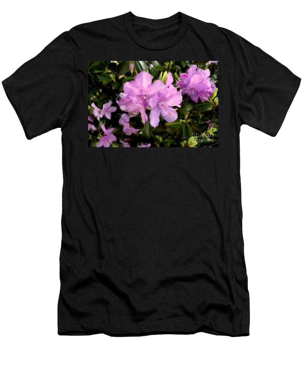 Flower Men's T-Shirt (Athletic Fit) featuring the photograph Announcing Spring by Luther Fine Art