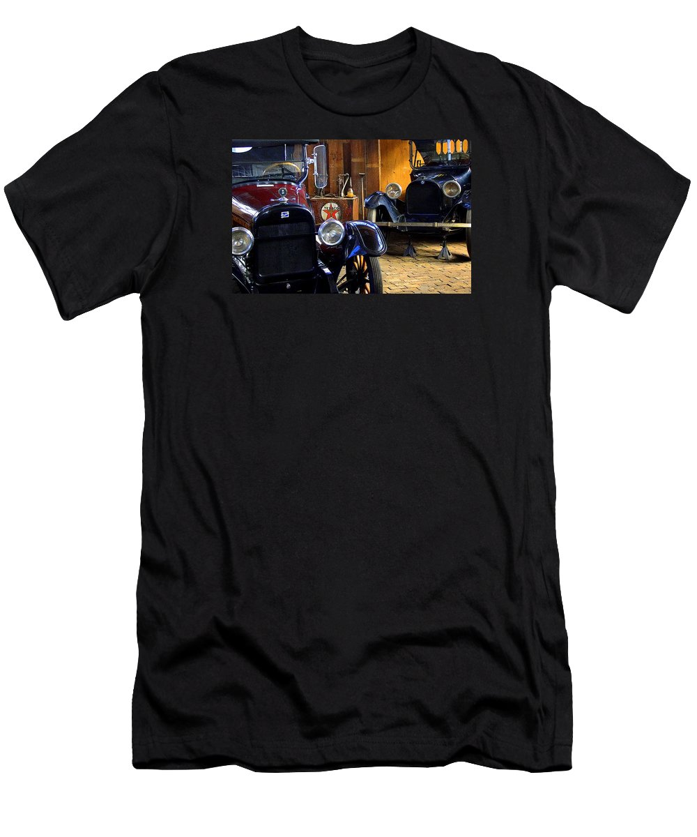 Fine Art Men's T-Shirt (Athletic Fit) featuring the photograph Another Time by Rodney Lee Williams