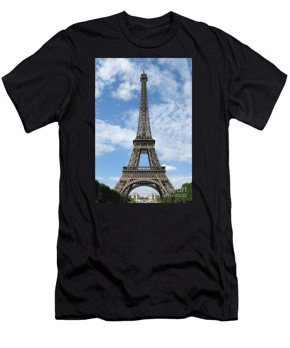 Paris Men's T-Shirt (Athletic Fit) featuring the photograph Architectural Standout by Ann Horn