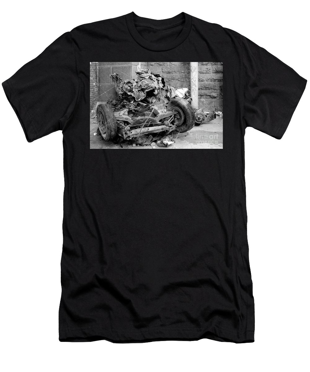 Car As Art Men's T-Shirt (Athletic Fit) featuring the photograph Art by Steven Macanka