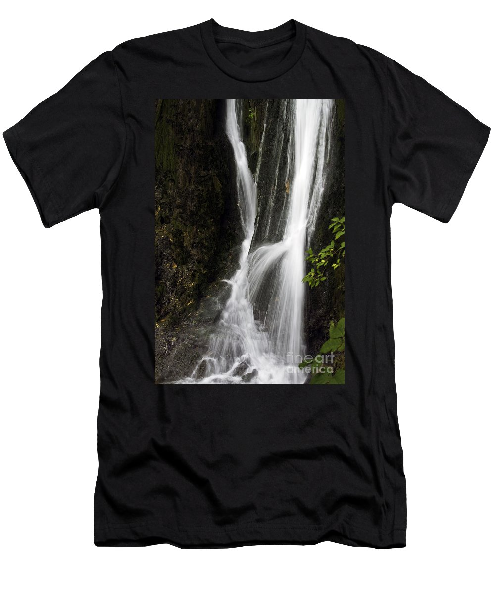 Rural Men's T-Shirt (Athletic Fit) featuring the photograph At The Bottom by Ken Frischkorn
