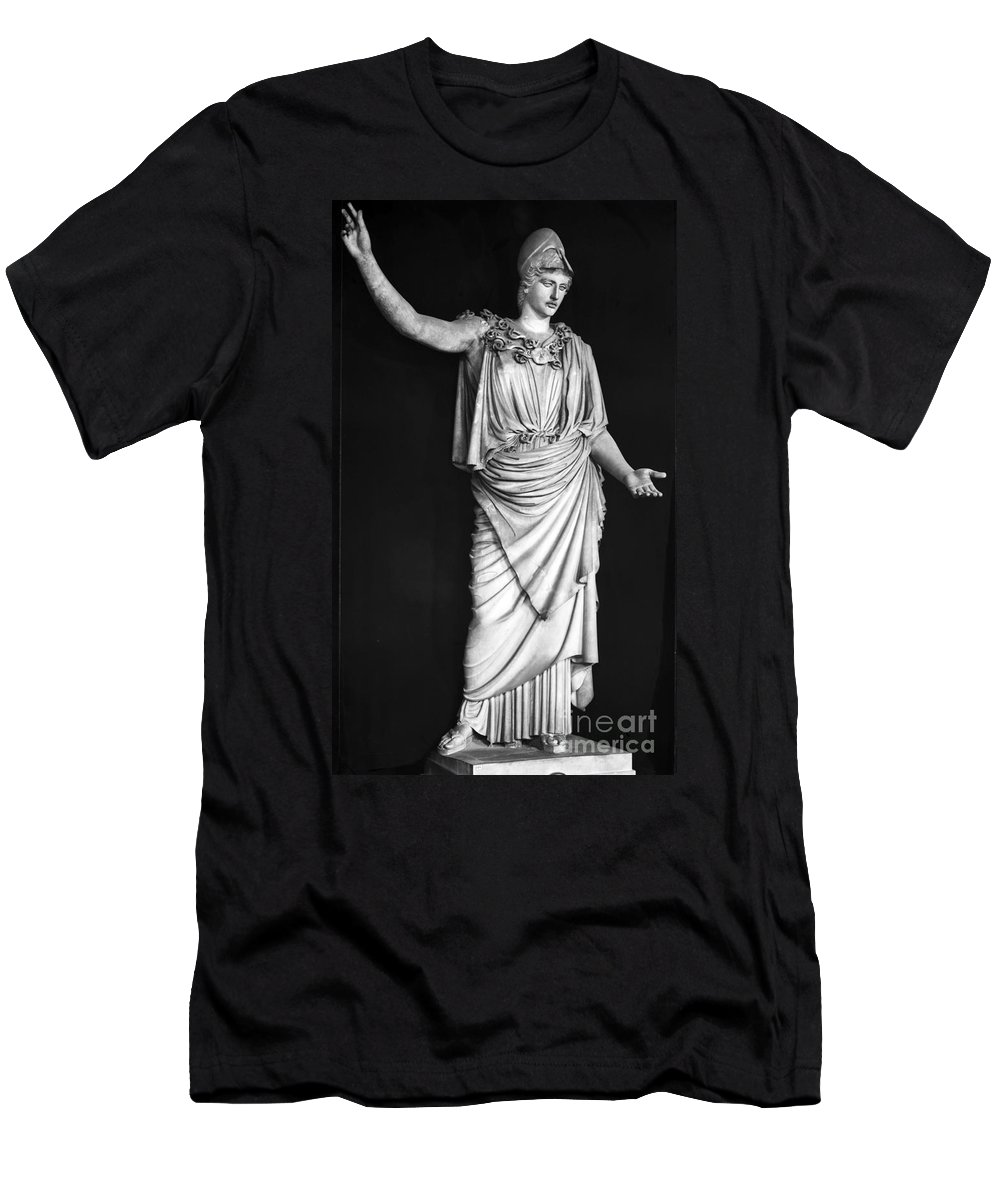 1st Century Men's T-Shirt (Athletic Fit) featuring the photograph Athena Or Minerva by Granger