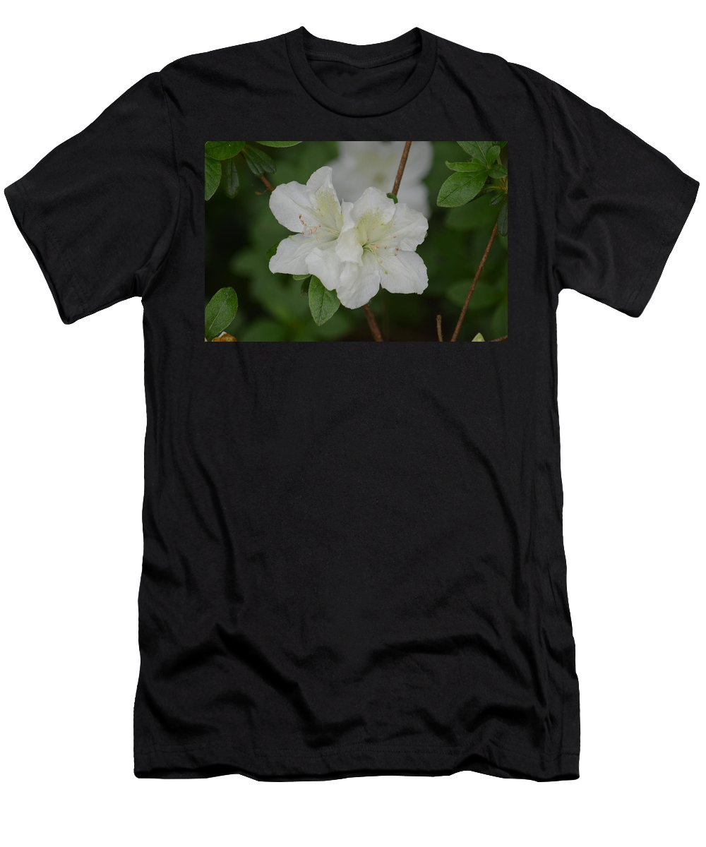 Azalea 14-2 Men's T-Shirt (Athletic Fit) featuring the photograph Azalea 14-2 by Maria Urso