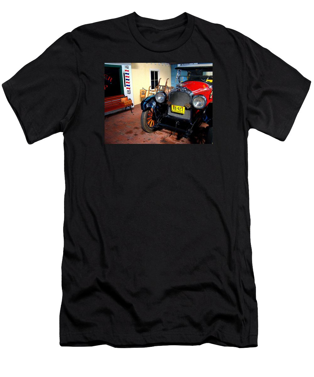Fine Art Men's T-Shirt (Athletic Fit) featuring the photograph Back Then by Rodney Lee Williams