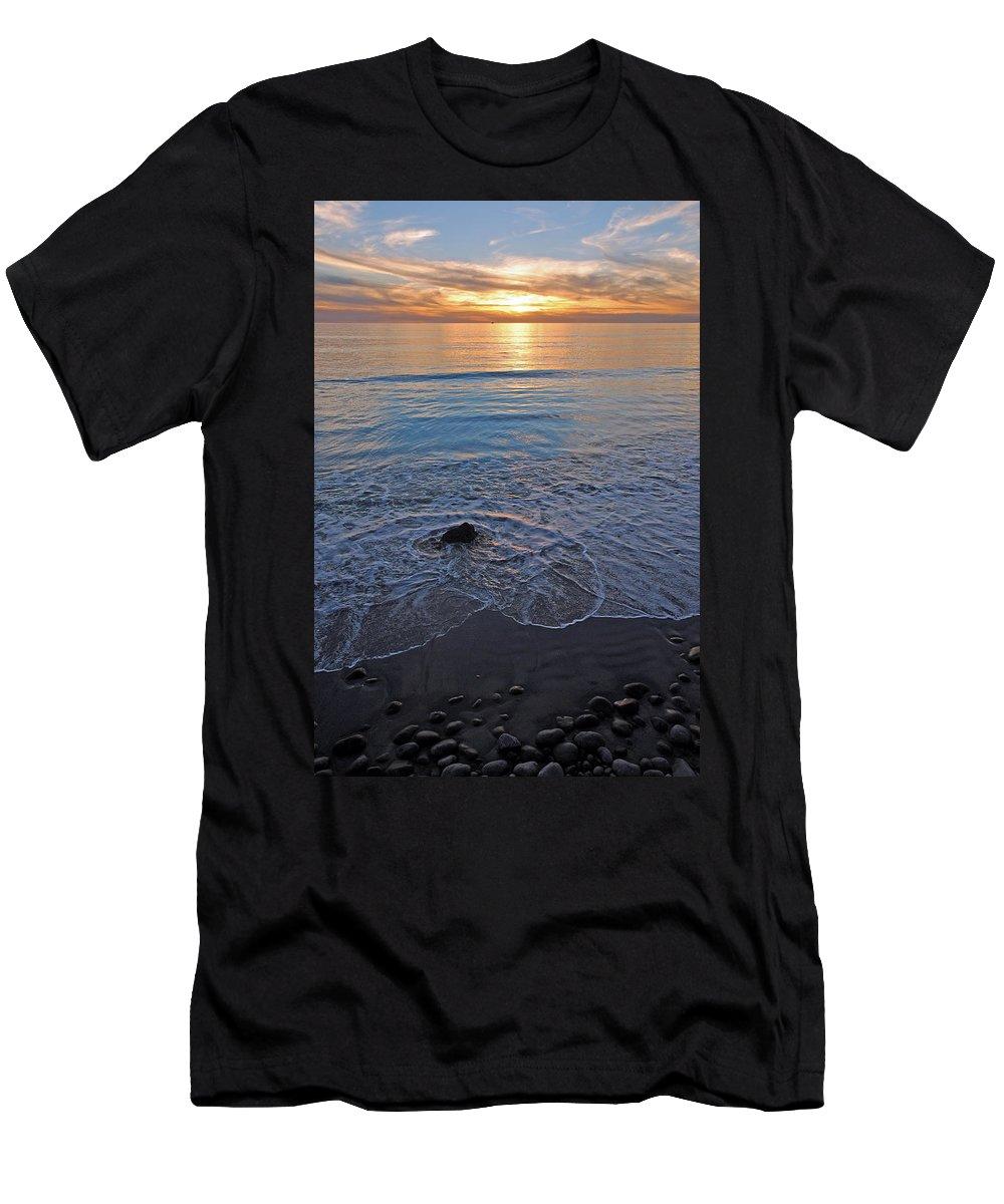 Baja Men's T-Shirt (Athletic Fit) featuring the photograph Baja California Rt 1 Coast 11 by Jeff Brunton