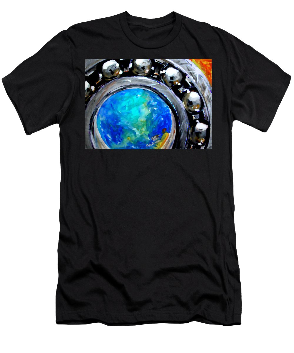 Bearing Men's T-Shirt (Athletic Fit) featuring the painting Bearing by Marcello Cicchini