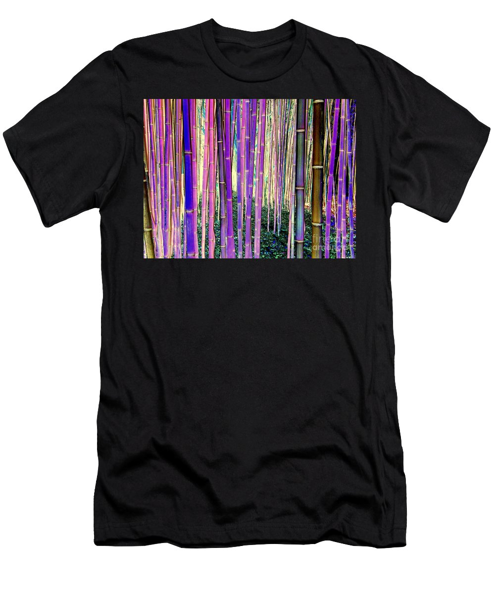 Pop Art Men's T-Shirt (Athletic Fit) featuring the photograph Beautiful Bamboo by Ed Weidman