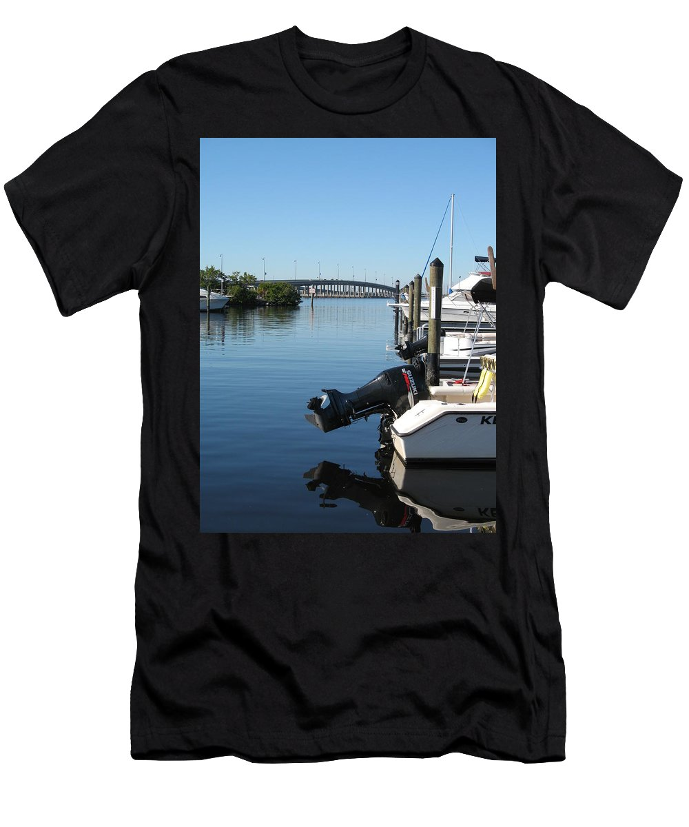 Water Men's T-Shirt (Athletic Fit) featuring the photograph Beautiful Day by Christiane Schulze Art And Photography