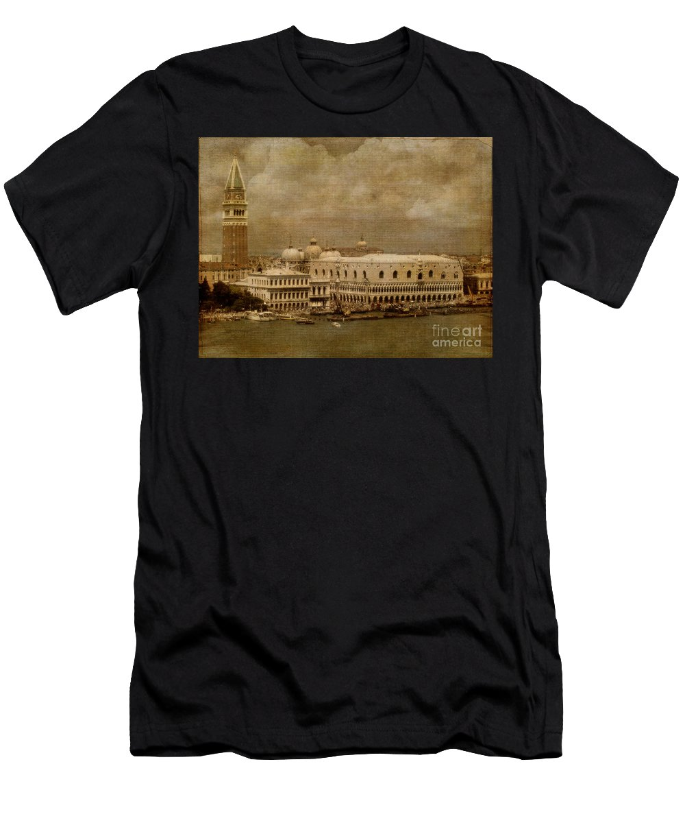Venice Men's T-Shirt (Athletic Fit) featuring the photograph Bellissima Venezia by Lois Bryan