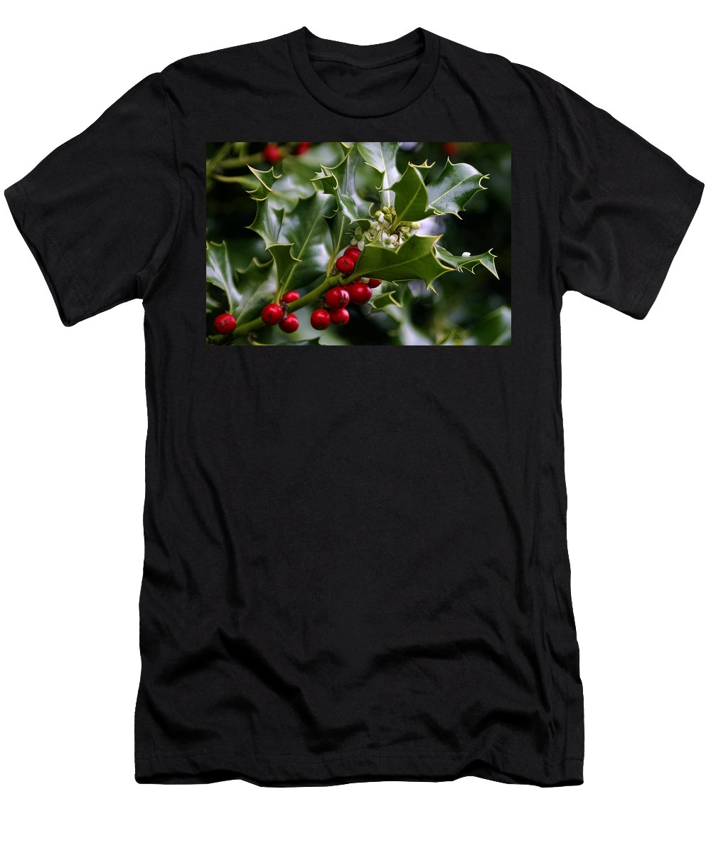 Best Of Holidays Men's T-Shirt (Athletic Fit) featuring the photograph Best Of Holidays by Wes and Dotty Weber