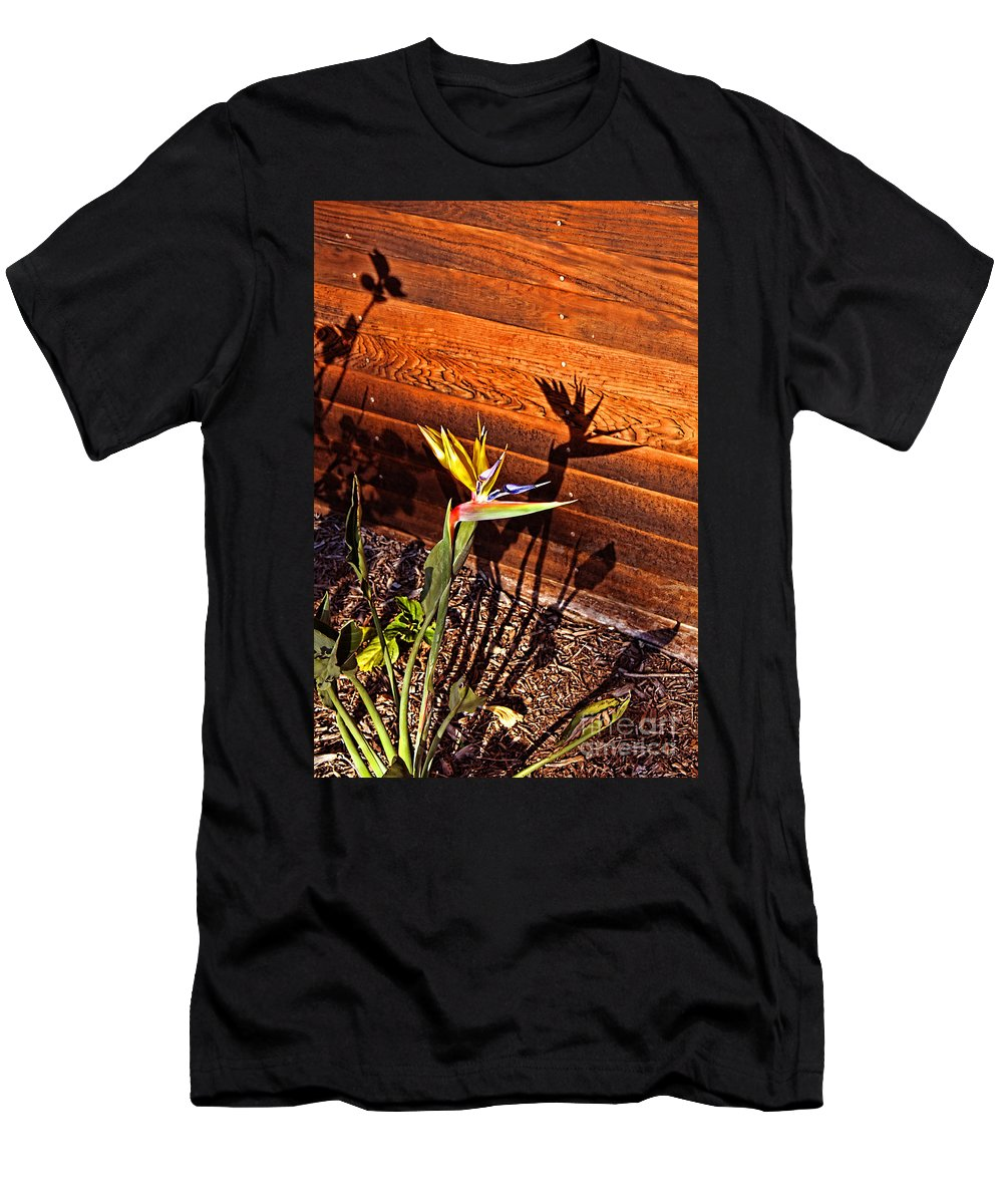 Bird Of Paradise Men's T-Shirt (Athletic Fit) featuring the photograph Bird Of Paradise by Tommy Anderson