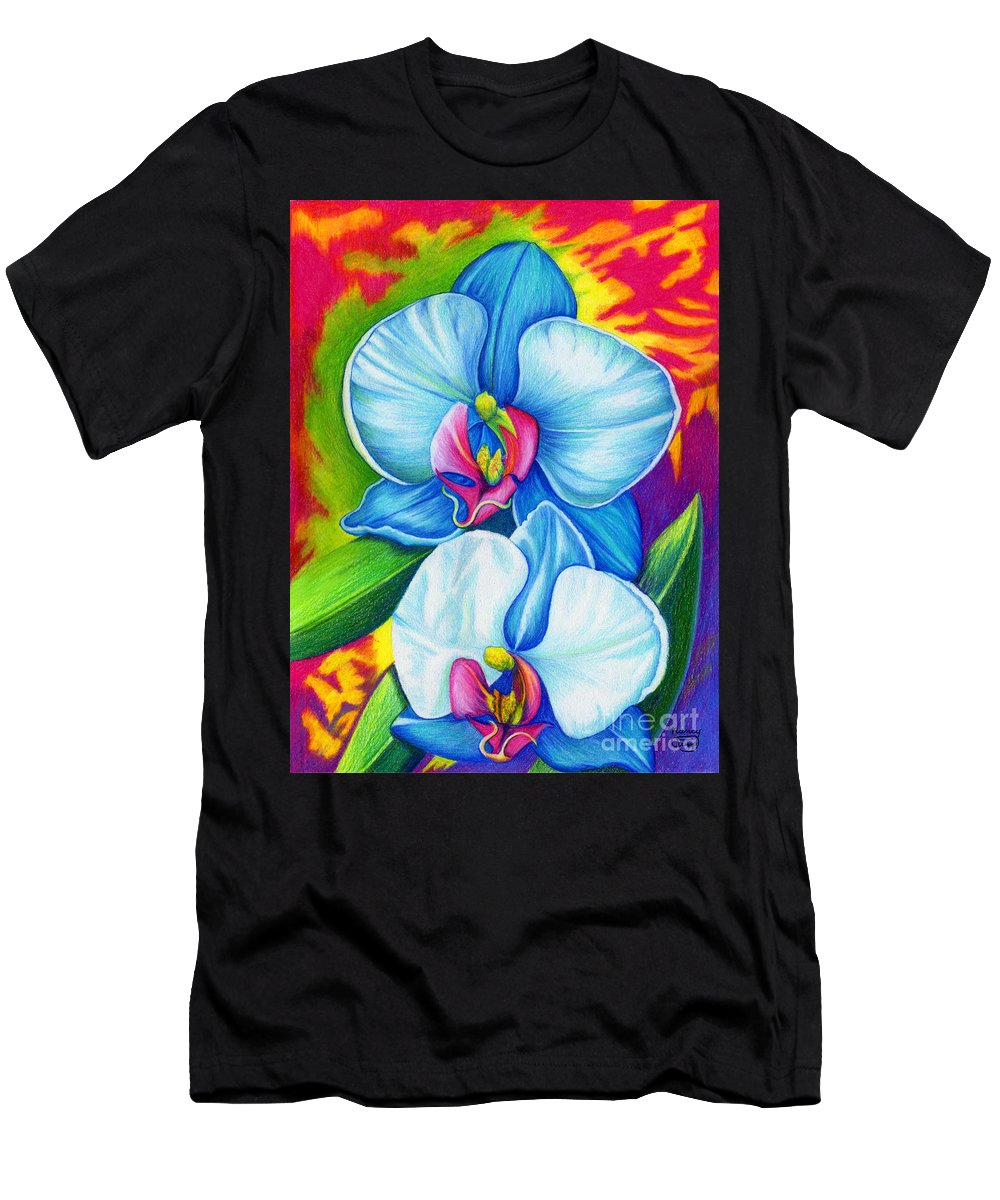 Bliss Men's T-Shirt (Athletic Fit) featuring the painting Bliss by Nancy Cupp