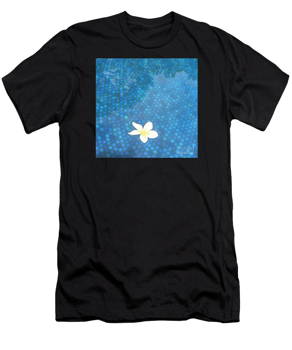 Hawaii Men's T-Shirt (Athletic Fit) featuring the photograph Blue Hawaii by Dona Dugay