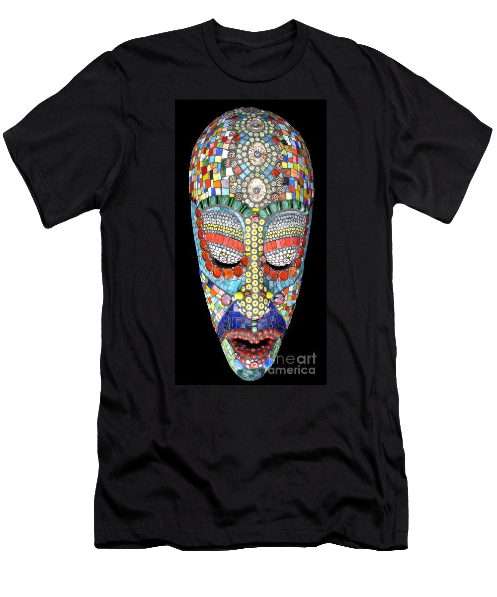 African Men's T-Shirt (Athletic Fit) featuring the photograph Bob Why The Long Face by Valerie Fuqua