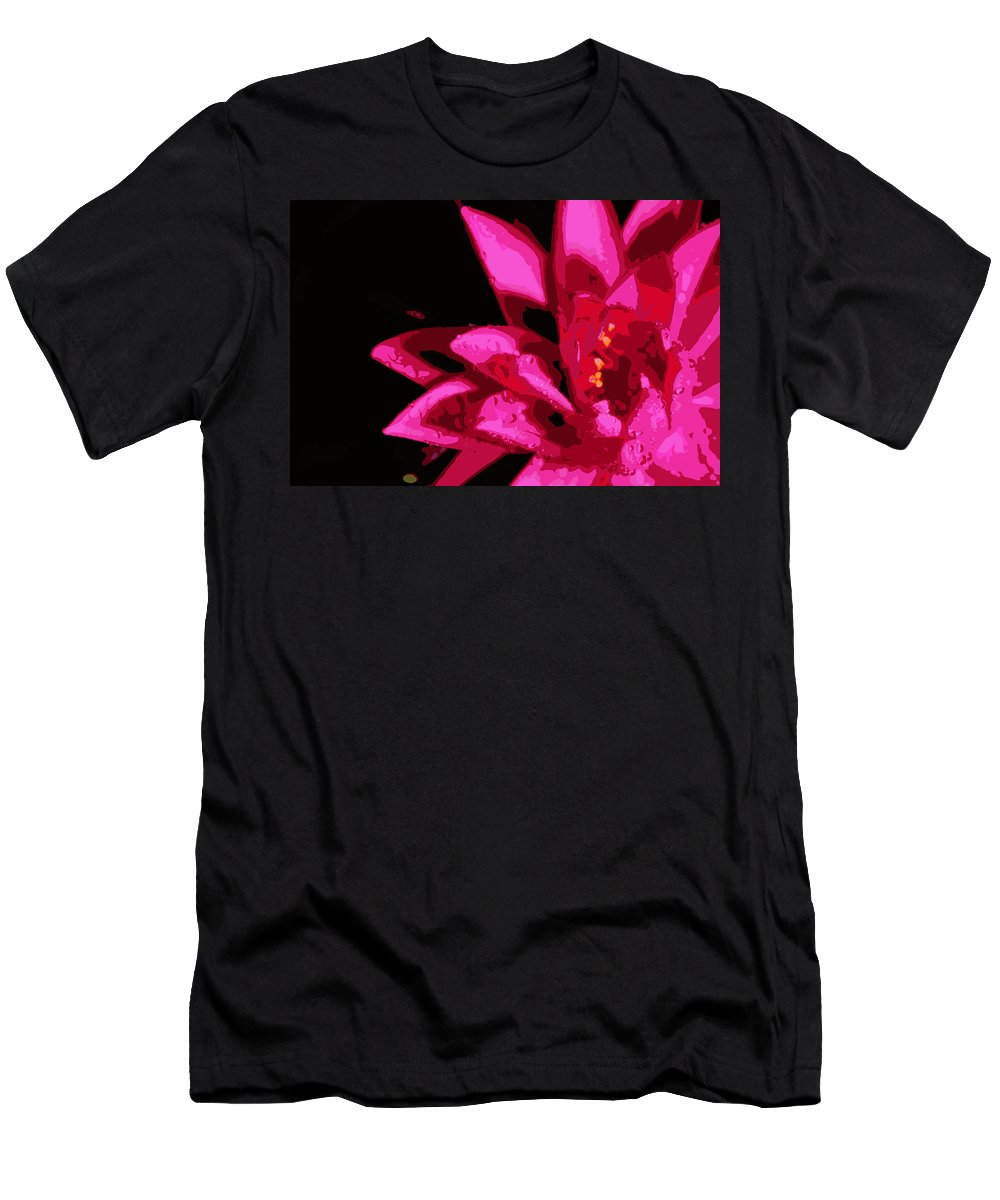 Lily Men's T-Shirt (Athletic Fit) featuring the photograph Bold Lily by Tina Meador