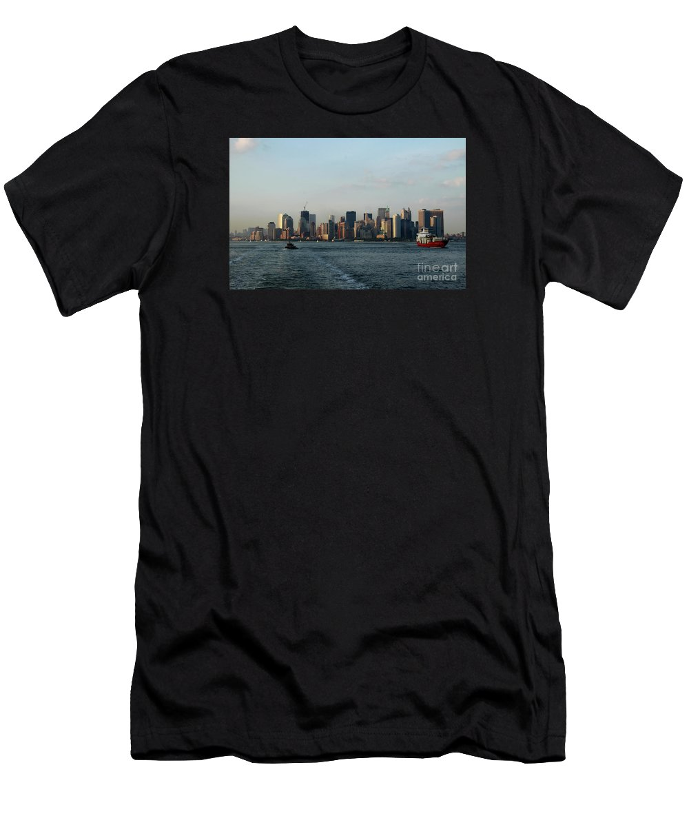 Tug Men's T-Shirt (Athletic Fit) featuring the photograph Bon Voyage by Christiane Schulze Art And Photography